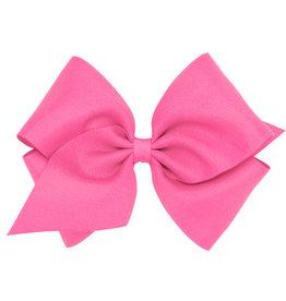 Wee Ones Mini King Grosgrain Hot Pink