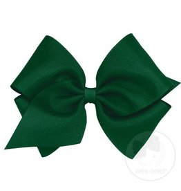 Wee Ones Mini King Grosgrain Forest Green
