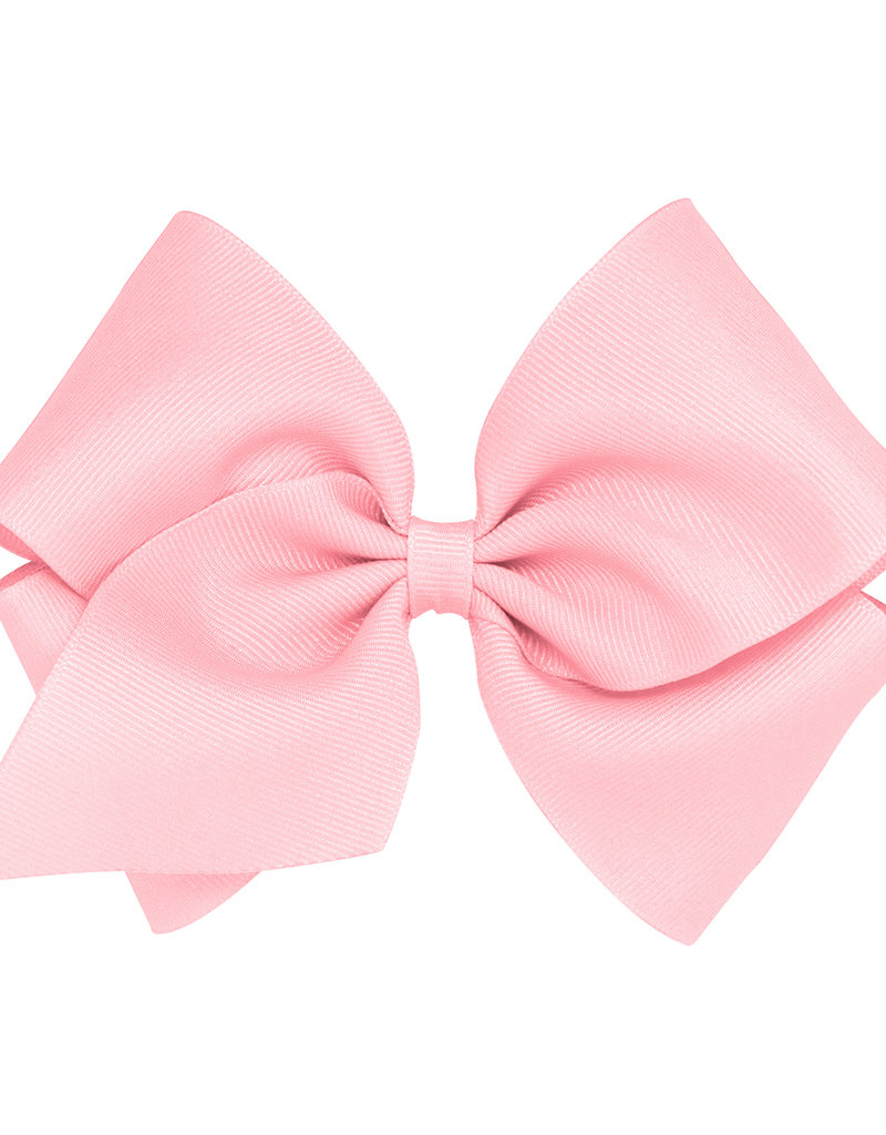 Wee Ones Mini King Grosgrain  Lt Pink