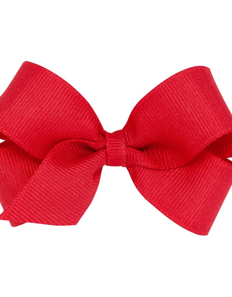 Wee Ones Mini Grosgrain Bow Red