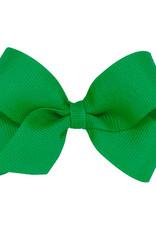 Wee Ones Mini Grosgrain Bow Green
