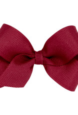 Wee Ones Mini Grosgrain Bow Cranberry