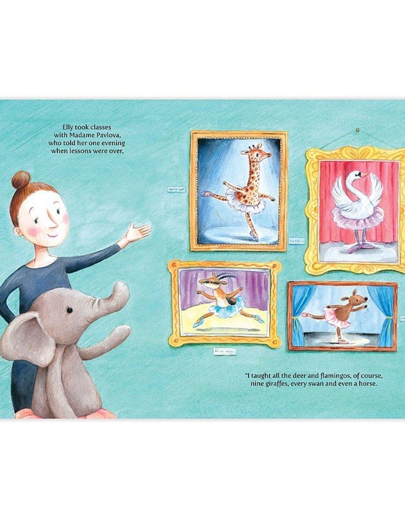 Jellycat Elly Ballerina Book