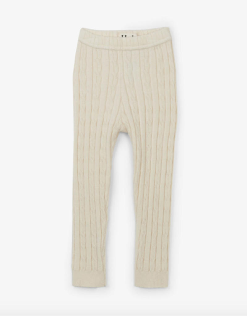Hatley Cream Cable Knit Baby Leggings 0/6M-12/24M