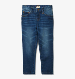 Hatley Navy Stretch Denim Pants 2-8