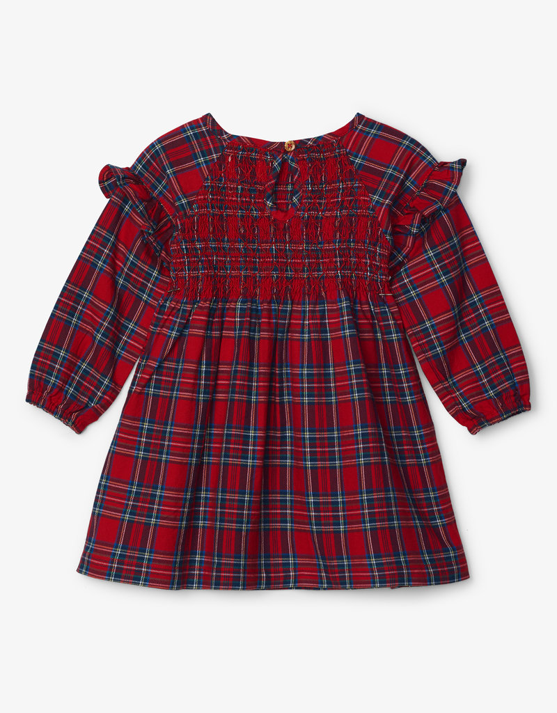 Hatley Holiday Plaid Smocked Party Dress