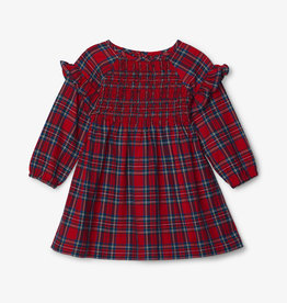 Hatley Holiday Plaid Smocked Party Dress 3/6M-4T
