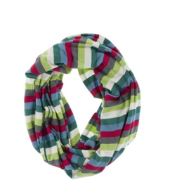 Kickee Pants 2020 Multi Stripe Circle Scarf
