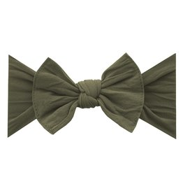 Baby Bling Bow Knot Bow Army Green