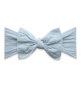 Baby Bling Bow Knot Bow Chambray