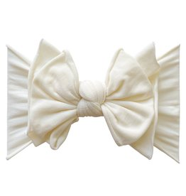 Baby Bling Bow Fab-Bow-Lous Ivory