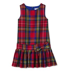 Classic Prep Drysdale Tartan Cameron Drop Waist Dress