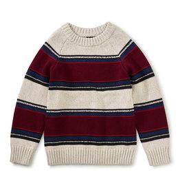 Tea Collection Striped Crewneck Sweater Gaucho Stripe XS(2/3)-XL(12/14)