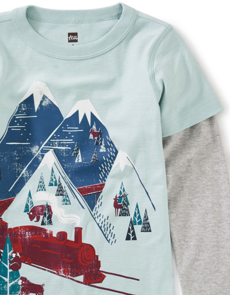Tea Collection Snow Train Graphic Tee