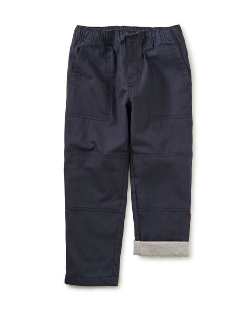 Tea Collection Cozy Jersey Lined Pant Indigo