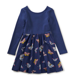 Tea Collection Ballet Skirted Dress Butterfly Flurry 2T, 10