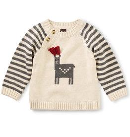 Tea Collection Alpaca Sweater Oatmeal 9/12M-2T