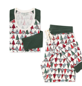 Burt's Bees O Christmas Tree Women Jogger Set XS, L