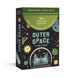 Random House Publishing Professor Astro Cat's Outer Space Flash Cards