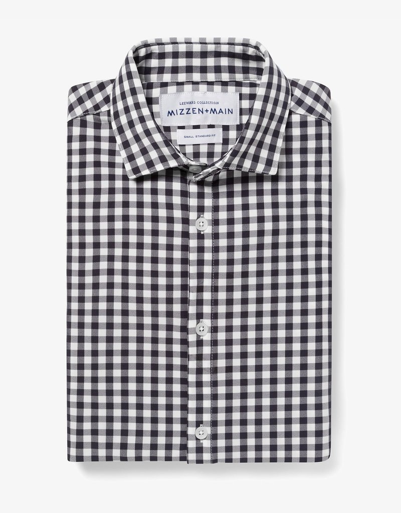 Mizzen+Main Montauk Navy Gingham Tall Trim XL