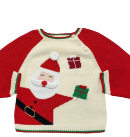 Zubels Santa Sweater 6M-4T