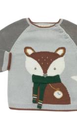 Zubels Fox Sweater Grey