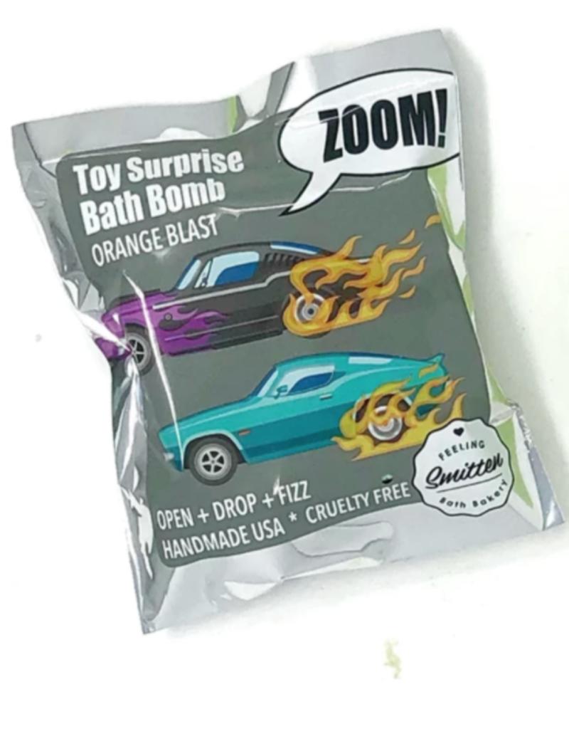 Feeling Smitten Bath Bakery Zoom Zoom Car Surprise Bath Bomb