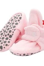 Zutano Fleece Gripper Bootie Pink 18M