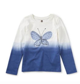 Tea Collection Flutter Dip Dye Graphic Tee Nightfall 10