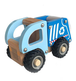 Toys and Games Wooden Recycle Truck