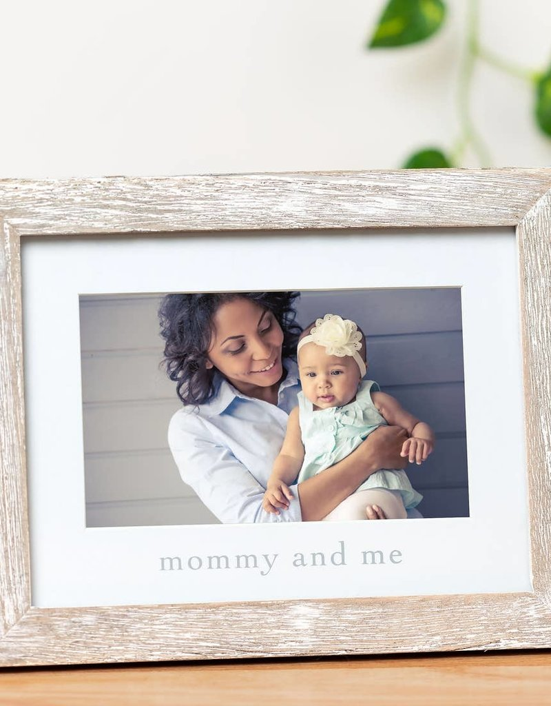 Rustic Mommy and Me Sentiment Frame