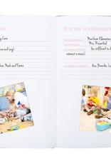 Linen Baby Memory Book/Ink Kit Pink