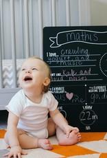 Baby Highlights Photo Sharing Chalkboard