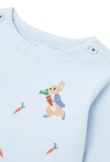 Peter Rabbit Lt Blue Top