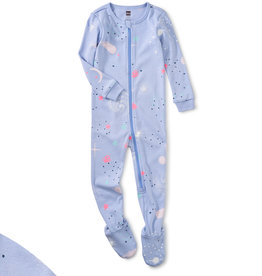 Tea Collection Glow Patterned Footed PJ's 3/6M-18/24M
