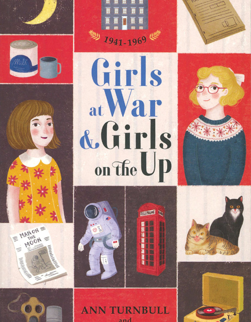 Usborne Girls at War & Girls on the Up