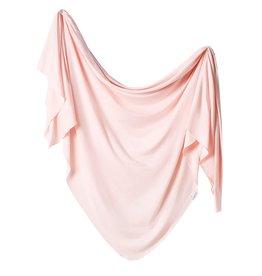 Copper Pearl Knit Blanket Blush