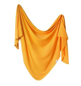 Copper Pearl Knit Blanket Solar