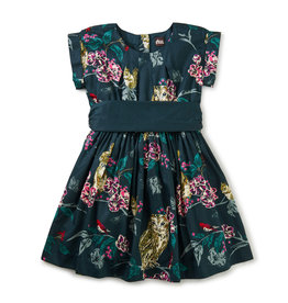 Tea Collection Sash Dress Forest Critters 3T, 6