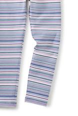 Tea Collection Multi Stripe Leggings Perennial Pink