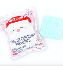 Feeling Smitten Bath Bakery Christmas Naughty or Nice? Surprise Bath Bomb