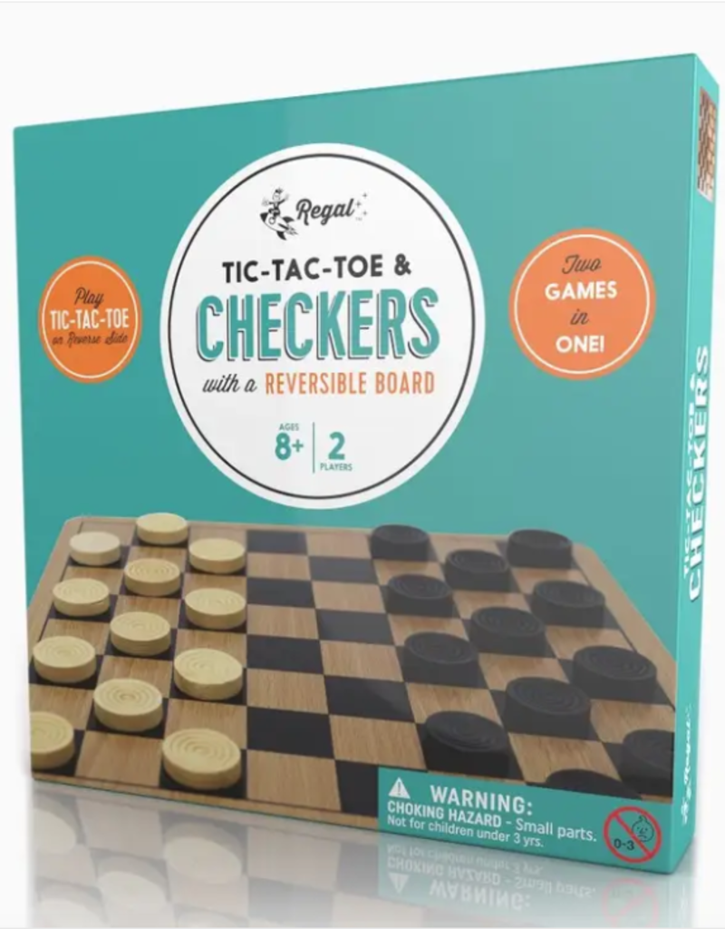 Toys and Games Checkers and Tic-Tac-Toe