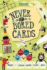 Usborne Wipe-Clean Never Get Bored Cards