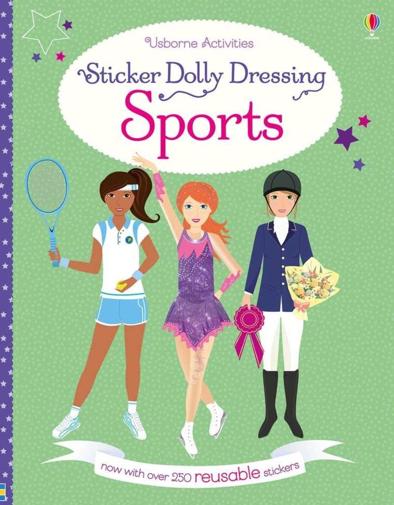 Usborne Sticker Dolly Dressing Sports