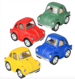 """Toys and Games Die Cast Pull Back 2"""" VW Bug Asst."""