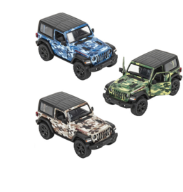 Toys and Games Die Cast 2018 Jeep Wrangler Camo Hard Top Asst.