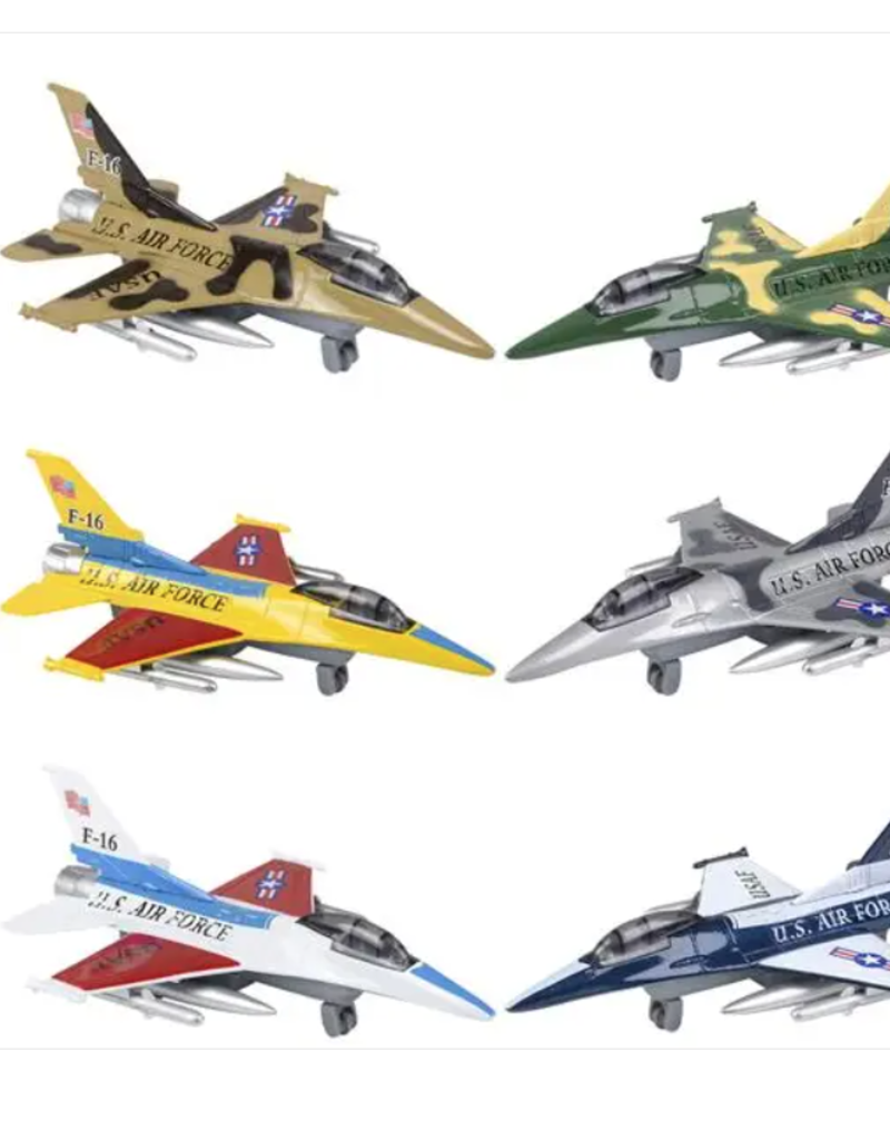 Toys and Games Die Cast F-16 Jet Asst.