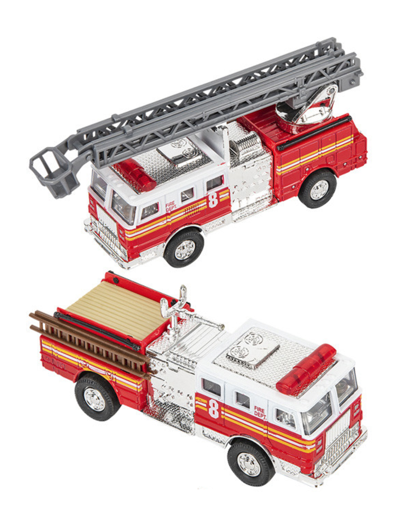 Toys and Games Die Cast Pull Back Fire Truck Asst.