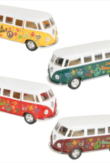 Toys and Games Die Cast VW Flower Power Bus Asst.