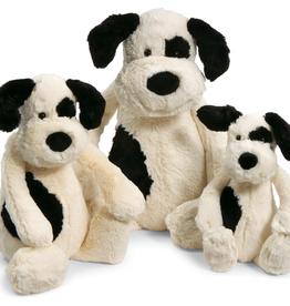 Jellycat Bashful Black & Cream Puppy